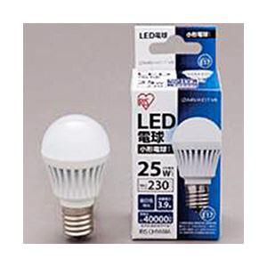 アイリスオーヤマ LED電球 小形 230lm 昼白色 E17口金 1個 型番:LDA4N-H-E17-V8 LDA4N-H-E17-V8