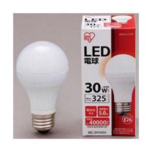アイリスオーヤマ LED電球 325lm 電球色 E26口金 1個 型番:LDA6L-H-V13 LDA5L-H-V18