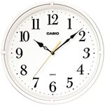 CASIO(カシオ) 壁掛け時計 ホワイト IQ-88-7JF 1台 IQ-88-8JF