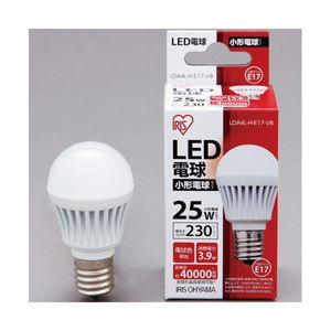 アイリスオーヤマ LED電球 230lm 電球色 E17口金 1個 型番:LDA4L-H-E17-V8 LDA4L-H-E17-V8