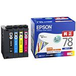 エプソン対応 インクカートリッジ 4色パック IC4CL78 純正品 1パック IC4CL78