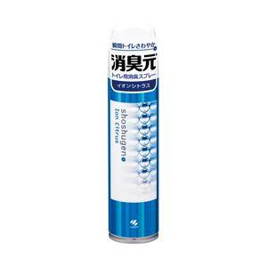 (業務用セット) 小林製薬 消臭元トイレ用スプレー イオンシトラス 1本(280ml) 【×10セット】