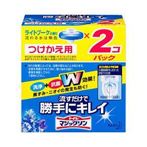 (業務用セット) 花王 トイレマジックリン 流すだけで勝手にキレイ つけ替用 1パック 【×5セット】