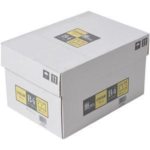APPJ カラーペーパー クリーム B4箱 500枚×5冊 型番:CPY003ハコ