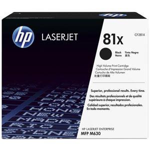 HP トナーカートリッジ トナー 型番:CF281X 印字枚数:25000 単位:1個