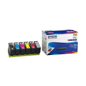 EPSON 純正インクカートリッジ ソリ 6色 SOR-6CL 1パック(6色)