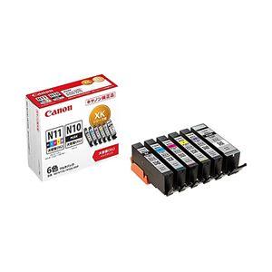 キヤノン 純正インクタンク 大容量6色 XKI-N11XL+N10XL/6MP 1パック(6色)