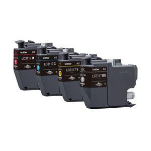 ブラザー 純正インクカートリッジ 4色 LC3117-4PK 1パック(4色)