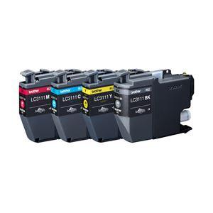 ブラザー 純正インクカートリッジ 4色 LC3111-4PK 1パック(4色)