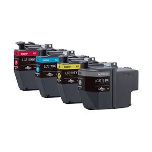 ブラザー 純正インクカートリッジ 大容量4色 LC3119-4PK 1パック(4色)