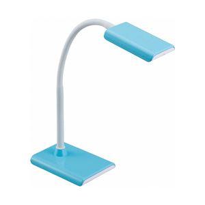 オーム電機 LEDデスクランプ 昼白色 ブルー ODS-LS16-A 1台