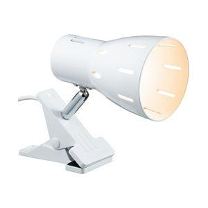ヤザワコーポレーション 6Wクリップライト電球色ホワイト CLLE06L07WH 1台