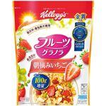 日本ケロッグ フルーツグラノラ朝摘みいちご 1袋(600g)