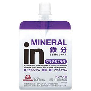 (まとめ)森永製菓 inゼリー マルチビタミン 180g 1パック(6袋)【×3セット】