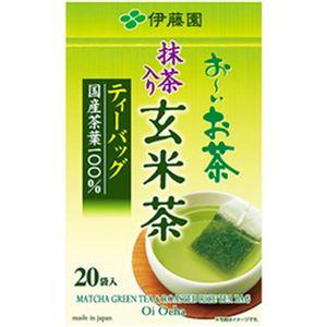 (まとめ)伊藤園 お〜いお茶 ティーバッグ 玄米茶【×10セット】