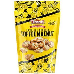 (まとめ)ダイアモンドベーカリー ハワイアンクッキー トフィーマカナッツ 小 1袋(51g)【×10セット】