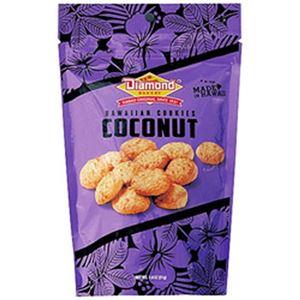 (まとめ)ダイアモンドベーカリー ハワイアンクッキー ココナッツ 小 1袋(51g)【×10セット】