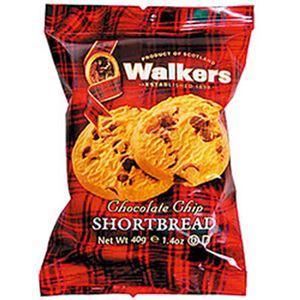 (まとめ)ウォーカー ショートブレッド チョコチップ 1箱(2個×12袋)【×3セット】