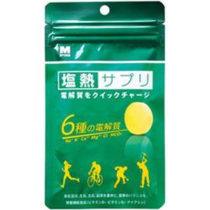 (まとめ)ミドリ安全 塩熱サプリ 30g 1袋 9483002520【×5セット】