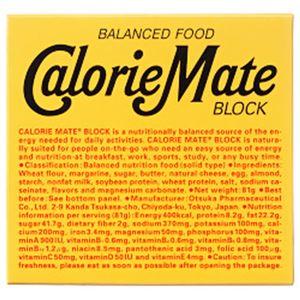 (まとめ)大塚製薬 カロリーメイト ブロック チーズ味【×20セット】