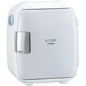 ツインバード コンパクト電子保冷保温ボックス D-CUBES グレー HR-DB06GY 1台