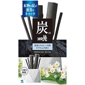 (まとめ)小林製薬 炭の消臭元 すずらんの香り 50ml 1個【×5セット】