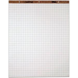 TOPS イーゼルパッド 25mm方眼罫 1箱(50枚×2冊)
