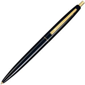 (まとめ)ビック クリックゴールド 油性ボールペン0.7mm黒 ブラック軸【×20セット】