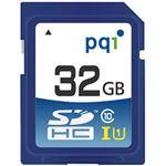 (まとめ)PQI SDHCカード 32GB Class10 UHS-I対応 SD10U11-32 1枚【×3セット】