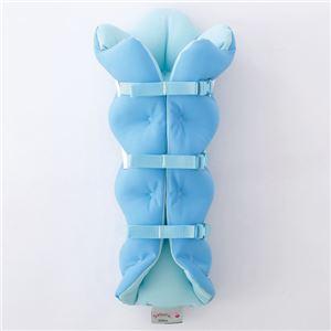 musshu(ムッシュ) 足枕 サクラ咲くまくら(両足用) ブルー