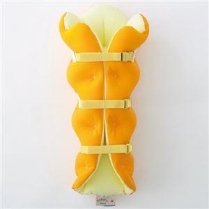 musshu(ムッシュ) 足枕 サクラ咲くまくら(両足用) オレンジ