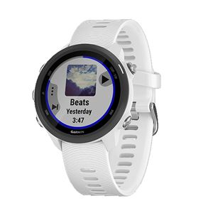 GARMIN(ガーミン) ForeAthlete 245 Music White Black【日本正規品】