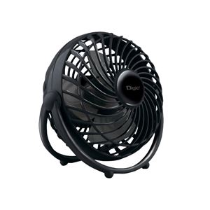 ナカバヤシ Digio2 USB 扇風機 UA-045BK ブラック