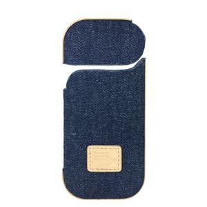 (業務用3セット) Digio2 IQOS用 デニムファブリックケース IQS04 ブルー SZC-IQS04BL