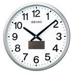 セイコー 掛時計 ハイブリッドソーラー電波掛時計 SF242S 1個