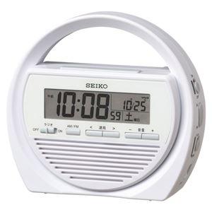 SEIKO(セイコー) 防災電波目覚し時計 SQ764W 1個