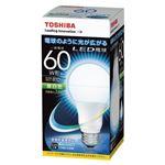 東芝 E-CORE LED電球 一般電球形 全配光タイプ 全光束810lm LDA8N-G/60W 1個