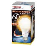 東芝 E-CORE LED電球 一般電球形 全配光タイプ 全光束810lm LDA9L-G/60W 1個