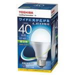 東芝 E-CORE LED電球 一般電球形 広配光タイプ 全光束485lm LDA5N-G-K/40W 1個