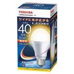 東芝 E-CORE LED電球 一般電球形 広配光タイプ 全光束485lm LDA7L-G-K/40W 1個