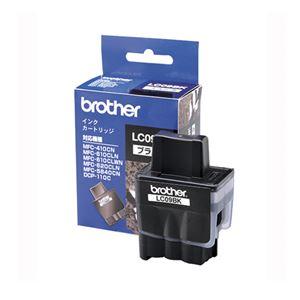 ブラザー(BROTHER) インクジェットカートリッジ LC09BK 【インク色:ブラック】 1個