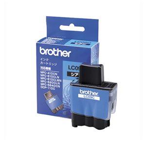 ブラザー(BROTHER) インクジェットカートリッジ LC09C 【インク色:シアン】 1個