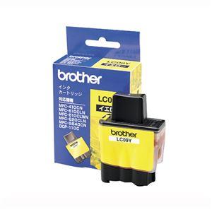 ブラザー(BROTHER) インクジェットカートリッジ LC09Y 【インク色:イエロー】 1個