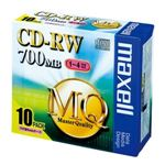 maxell PC DATA用 CD-RW 1-4倍速対応 CDRW80MQ.S1P10S 10枚