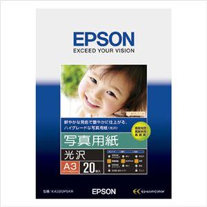 エプソン(EPSON)純正プリンタ用紙 写真用紙(光沢) KA320PSKR 20枚