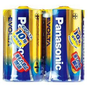 パナソニック EVOLTAアルカリ乾電池 LR20EJ/2SE 2本