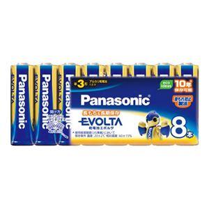 パナソニック EVOLTAアルカリ乾電池 LR6EJ/8SW 8本
