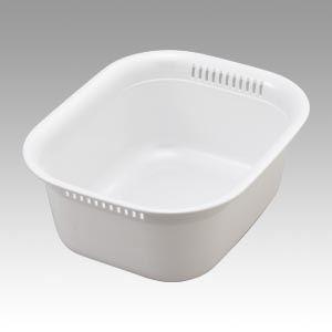 (業務用セット) リス HOME&HOME 洗い桶 13450-3 パールホワイト 1個入 【×3セット】