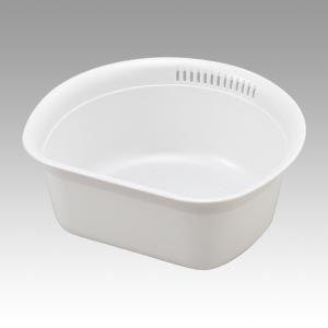 (業務用セット) リス HOME&HOME 洗い桶 13448-0 パールホワイト 1個入 【×3セット】