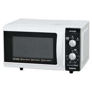 アイリスオーヤマ 電子レンジ フラットテーブル 60Hz用 ホワイト IMB-F181-6